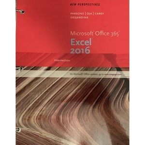 Other - Microsoft Office 365 & Excel 2016 Loose Leaf
